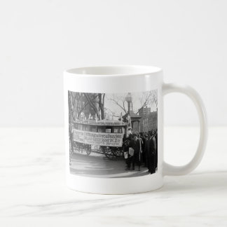 Suffrage Rally, 1919 Coffee Mug