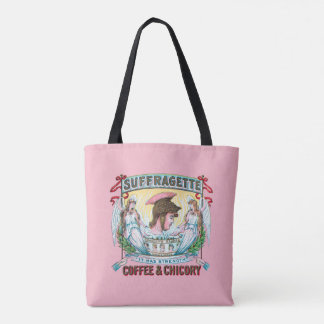 Suffragette Coffee & Chicory Tote Bag