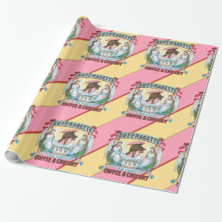 Suffragette Coffee & Chicory Wrapping Paper
