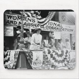 Suffragette de Harriman de la margarita de Florenc Alfombrilla De Ratón