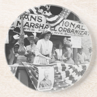 Suffragette de Harriman de la margarita de Posavasos Manualidades