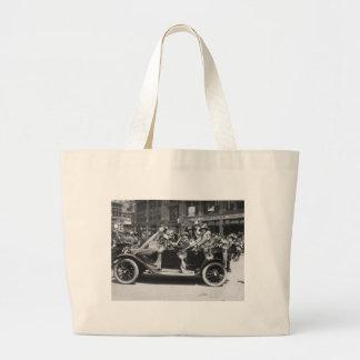 Suffragette Flower Sale, 1916 Tote Bags