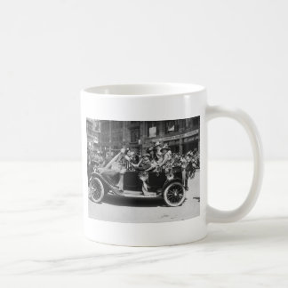 Suffragette Flower Sale, 1916 Coffee Mug
