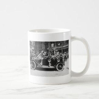 Suffragette Flower Sale, 1916 Coffee Mug