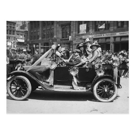 Suffragette Flower Sale, 1916 Post Cards