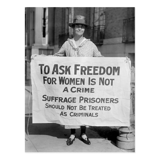 alice paul essay Led by alice paul, the national woman's party took to the streets to demand voting rights, organizing marches and protests that mobilized thousands of women.
