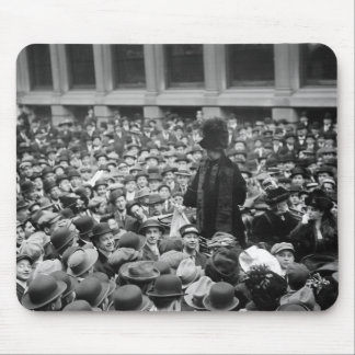 Suffragette Hits The Street: early 1910s Mouse Pad