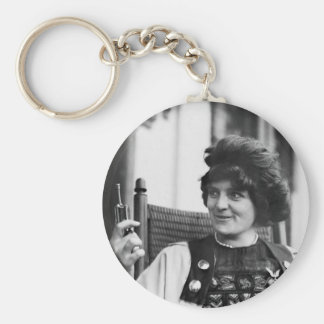 Suffragette Ida von Claussen Basic Round Button Keychain