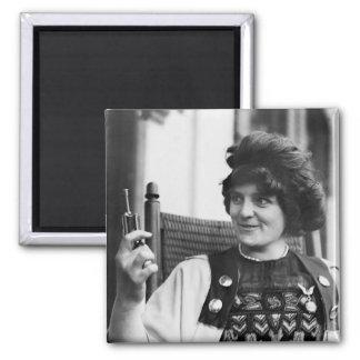 Suffragette Ida von Claussen Imán Cuadrado