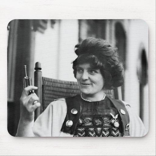 Suffragette Ida von Claussen Mousepads