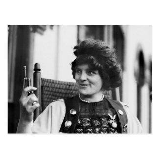 Suffragette Ida von Claussen Tarjeta Postal