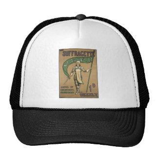 Suffragette Magazine Mesh Hats
