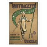 Suffragette Magazine Post Cards