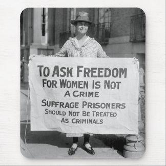 Suffragette para Alicia Paul, 1917 Mousepad