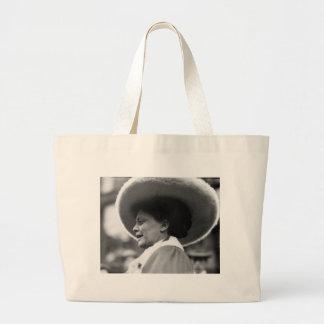 Suffragette que habla 1908 bolsas