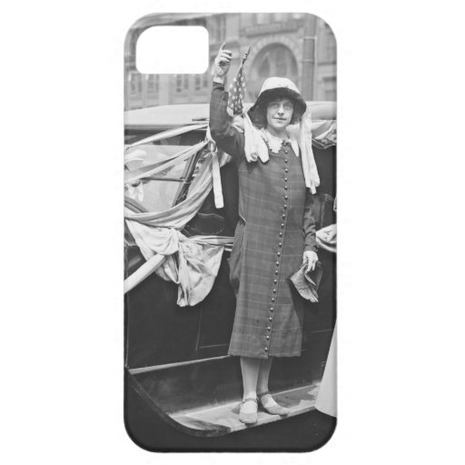 Suffragette Rosalía Jones 1924 iPhone 5 Case-Mate Cobertura