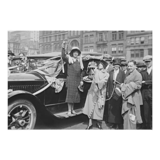 Suffragette Rosalía Jones 1924 Impresiones