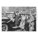 Suffragette Rosalie Jones 1924 Greeting Card