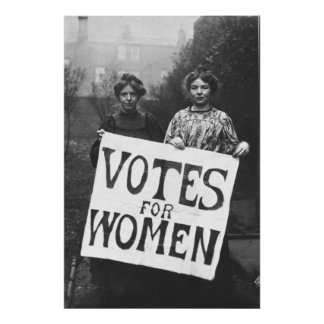 Suffragettes - Annie Kenny, Christabel Pank Posters