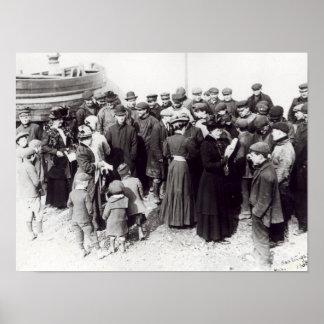 Suffragettes en Hastings, 1908 Póster
