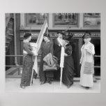 Suffragettes enérgicos: 1914 impresiones