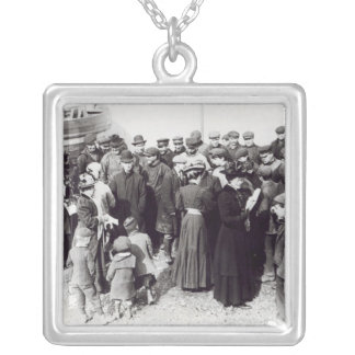 Suffragettes in Hastings, 1908 Silver Plated Necklace