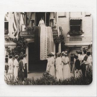 Suffragists Celebrate Ratification 19th Amendment Mouse Pad