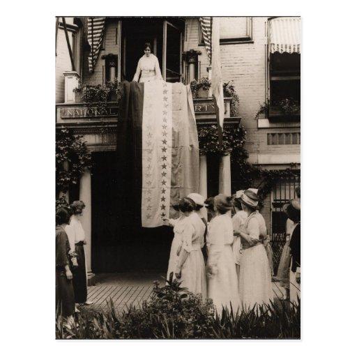 Suffragists Celebrate Ratification 19th Amendment Post Card