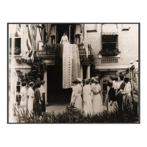 Suffragists Celebrate Ratification 19th Amendment Postcard