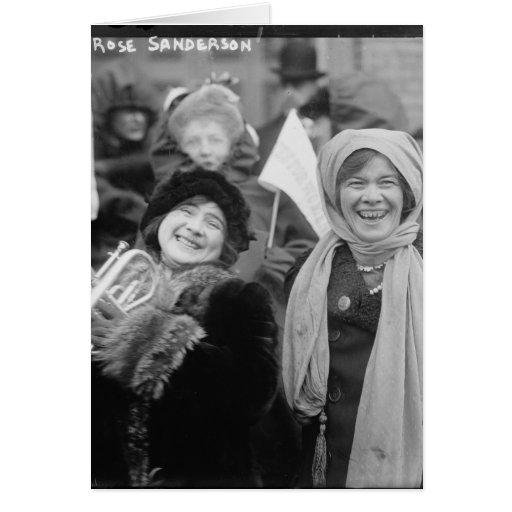 Suffragists Rose Sanderman and Elizabeth Freeman Greeting Cards