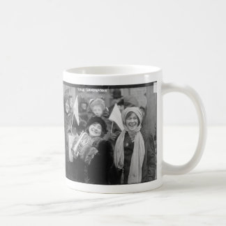 Suffragists Rose Sanderman and Elizabeth Freeman Coffee Mug