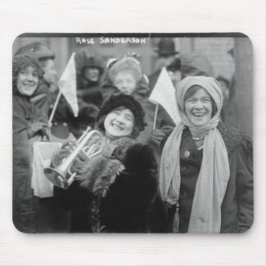 Suffragists Rose Sanderman and Elizabeth Freeman Mouse Pad