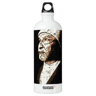 sufi art water bottle