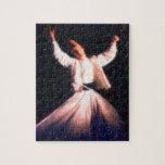 sufi - dervish dancing art paint puzzles