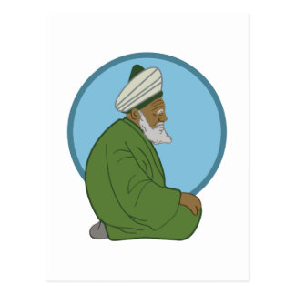 Sufi Man Postcard