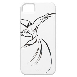 Sufi Meditation (Black) iPhone 5 Cover
