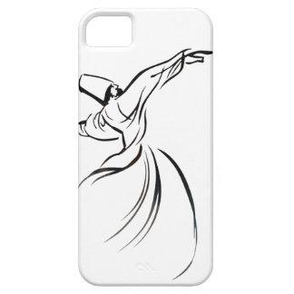 Sufi Meditation (Black) iPhone 5 Cover