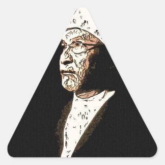 sufi sheik triangle sticker