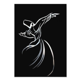 Sufi Whirling Card