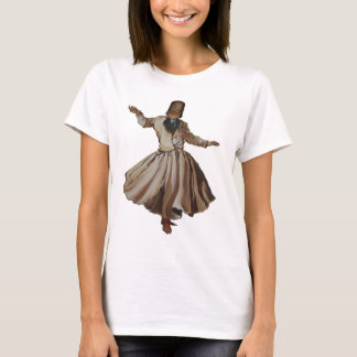 Sufi Whirling Dervish Isolated T-Shirt