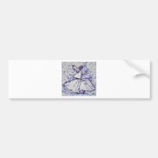 sufi whirling - NOVEMBER 19,2017 Bumper Sticker