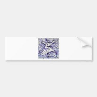 sufi whirling - NOVEMBER 21,2017 Bumper Sticker