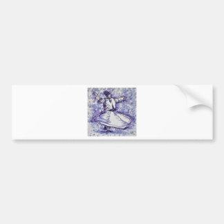 sufi whirling - NOVEMBER 27,2017 Bumper Sticker