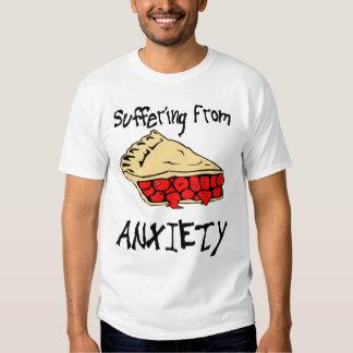 Sufrimiento de ansiedad de la empanada camisas