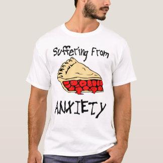 Sufrimiento de ansiedad de la empanada playera