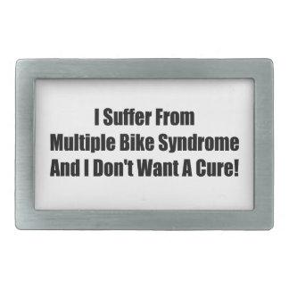 Sufro de síndrome múltiple de la bici y no hago Wa Hebillas De Cinturon