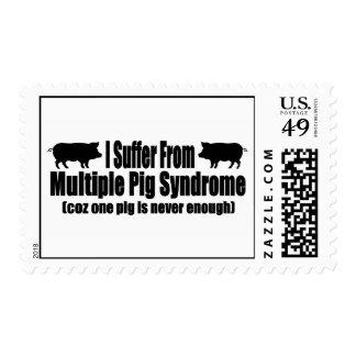 Sufro de síndrome múltiple del cerdo envio