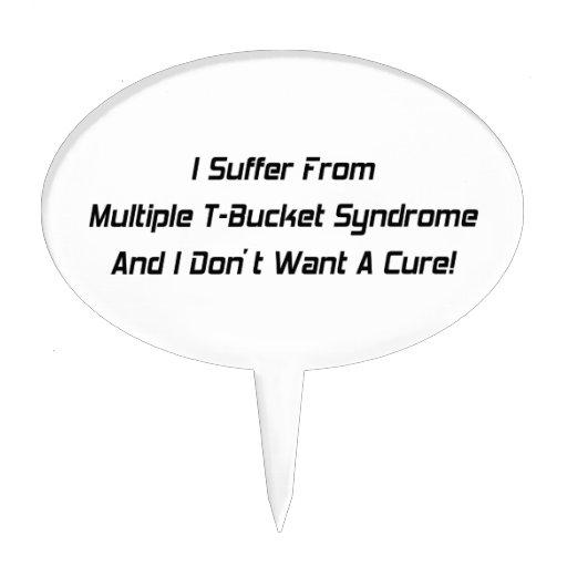 Sufro del síndrome y de I múltiples Don de Tbucket Figuras De Tarta