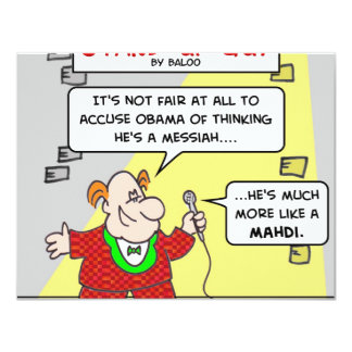 sug more like mahdi messiah obama card