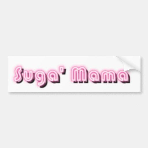 Suga' Mama Car Bumper Sticker